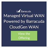 Managed Virtual WAN Powered by Barracuda CloudGen WAN